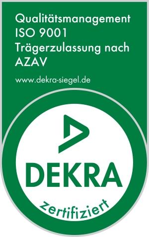 DEKRA AZAV Zertifizierung